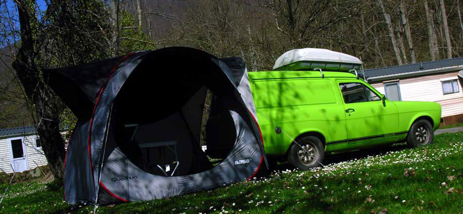 Emplacement camping dans les Hautes Pyrénées