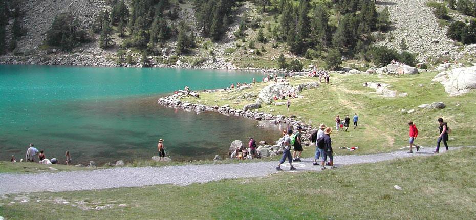 Le Lac de Gaube près de Cauterets