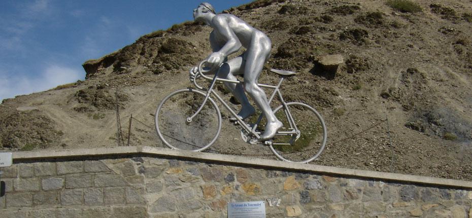 Le Col du Tourmalet et le cyclisme