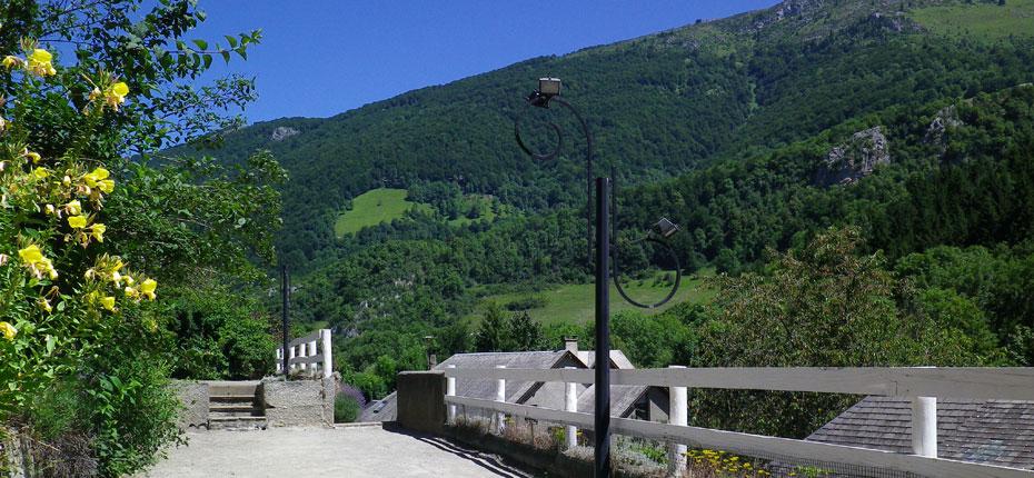 Camping terrain de pétanque hautes pyrenees