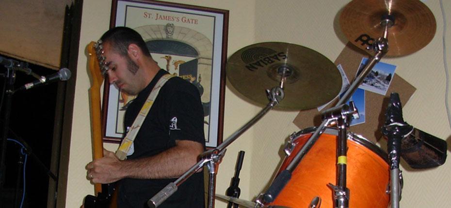 Concert au camping à Campan