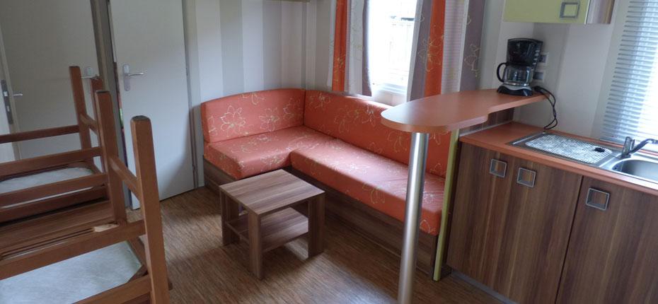 Votre mobil-home à louer au camping dans les Pyrénées