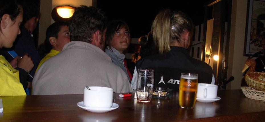 Le bar du camping l'Oree-des-Monts à Bagnères-de-Bigorre