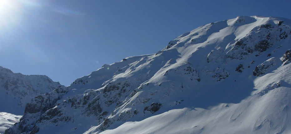 La montagne l'hiver
