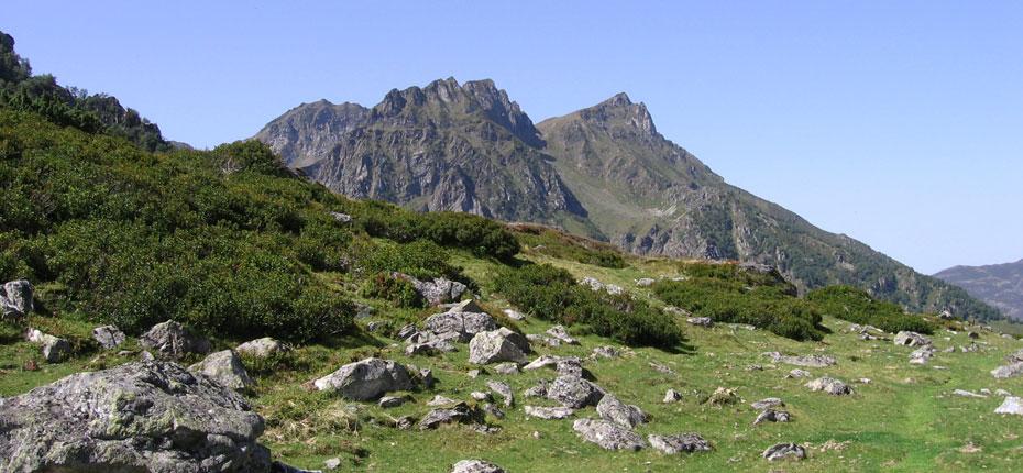 La montagne dans la vallée du Haut Adour