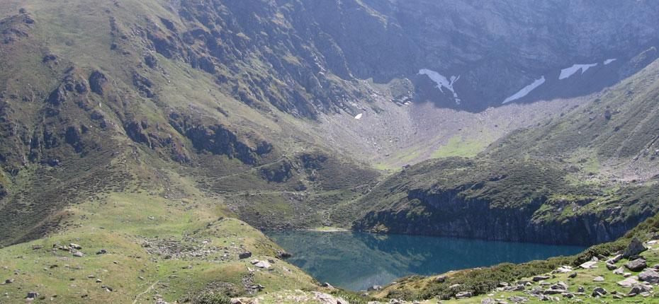 Barage des Gloriettes dans les Hautes Pyrénées