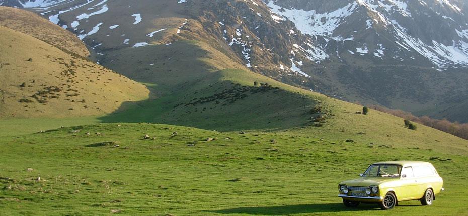 La montagne dans la vallée du Haut Adour dans les Pyrénées